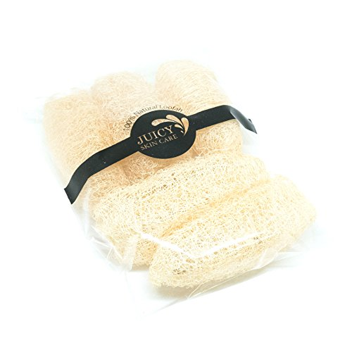 [100% Natural Premium Exfoliating mini Loofah is easy for your armpits or groin area and hand the Scrubber with Natural Luffa Pack of 5] (Loofah Halloween Costume)