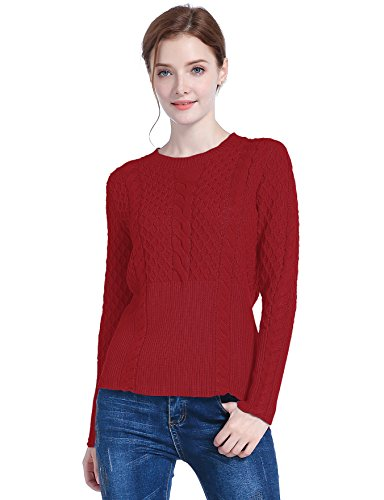100% Cotton Pullover Sweater - 8