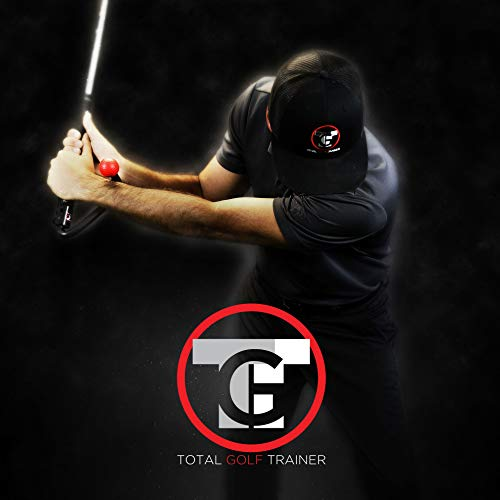 Total Golf Trainer 3.0 Kit Golf Training Aids Golf Swing Trainer – Teaches and Corrects Golf Swing, Posture and Hip Rotation, Wrist, Elbow and Arm Position
