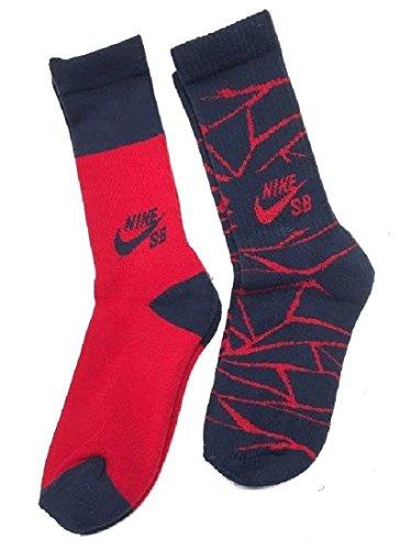 Nike SB 2-Pack Crew Socks Boys Youth 3Y-5Y/7-9