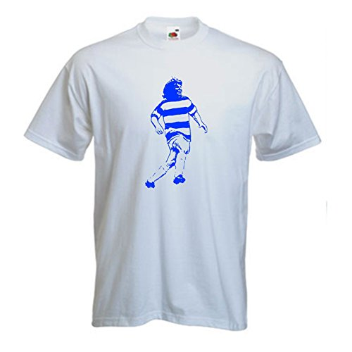 Invicta Screen Printers Men's Stan Bowles Of Qpr FC, used for sale  Delivered anywhere in USA