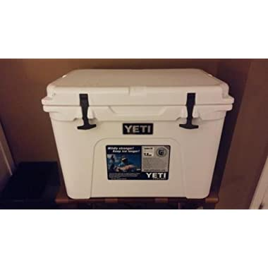 Yeti Tundra 50 Cooler Polyethylene 45.6 Qt 24 In. L X 17-1/2 In. W X 18 In. H White