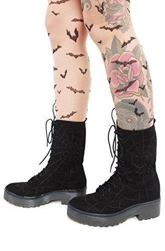In Iron My Sole Boot Walking Black Heavy Web Fist Evqvz
