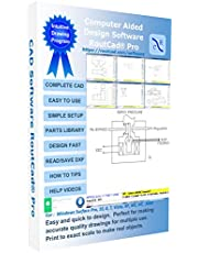 CAD Software for Electrical, Mechanical, Fire Alarm, Floor Plan, Sketch. Use the part library to quickly make your drawing with a easy to use software, plus tutorial training videos included.