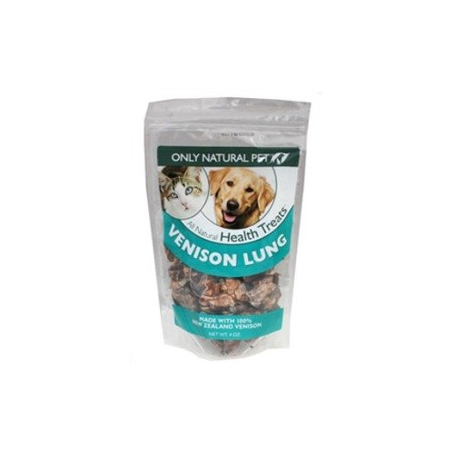 Only Natural Pet Venison Lung Pet Treats