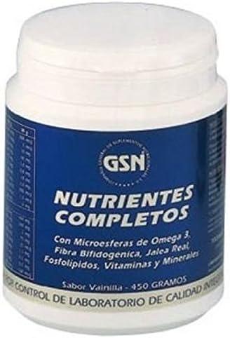 GSN Nutrientes Complex, Vainilla - 450 gr: Amazon.es: Salud y ...
