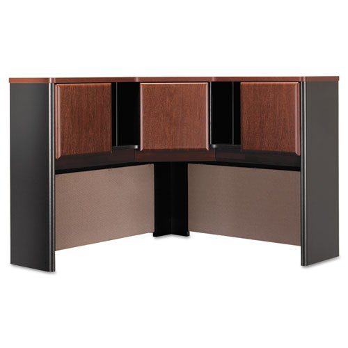 BSHWC94467 Bush Series A Corner Hutch, 47-1/4W X 47-1/4D X 36-1/2H, Hansen Cherry/Galaxy by Bush Business Furniture