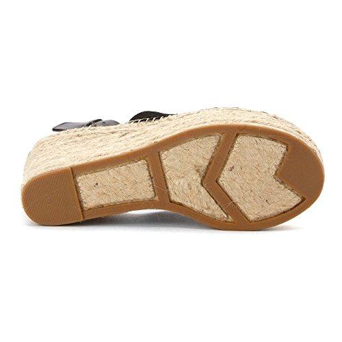 Marc Women's Fisher Wedge Adalyn Shoes LTD Suede Black rFgrX
