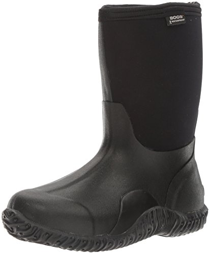 Bogs Women's Classic Mid Waterproof Insulated Boot,Black,9 M US (Winter Bogs Boots Women)