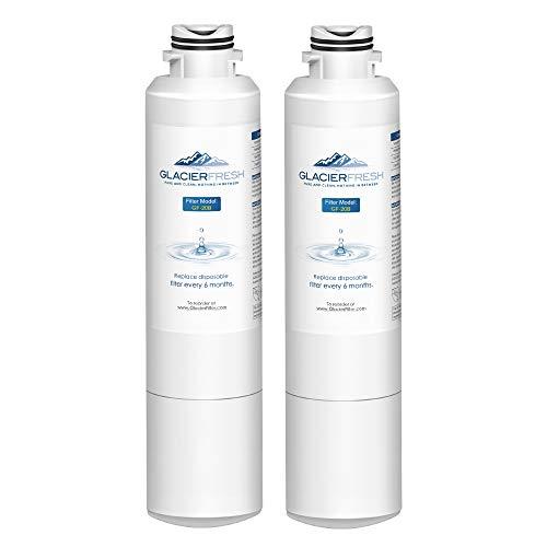 GLACIER FRESH Refrigerator Water Filter Replacement Samsung DA29-00020B HAF-CIN/EXP For French Door Fridge Kitchen By Samsung (2 PACK)