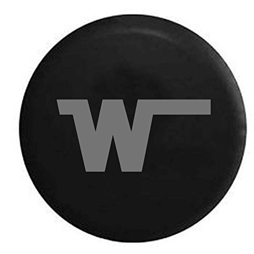Stealth - Winnebago W Camper Motorhome Spare Tire Cover OEM Vinyl Black 27.5 - Fleetwood Motorhomes C Class
