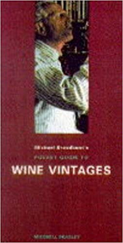 Book Michael Broadbent's Wine Vintages (Mitchell Beazley pocket guides)