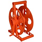 Larson Electronics CR150FS-MC Cord Reel - 150' Capacity for 16/3 Wire - Flood Stand with Manual Crank