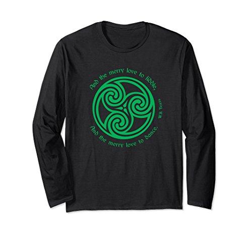 Yeats Poet Shirt Irish Celtic Knot Triskele Ireland Travel - Irish Celtic Triskele