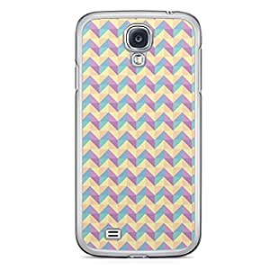 Floral Samsung Galaxy S4 Transparent Edge Case - Geometry A