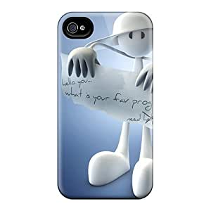 Defender Cases With Nice Appearance (survey 3d) For Iphone 4/4s