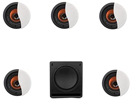 Amazon com: Klipsch CDT-5800-CII In-Ceiling System #2: Home Audio