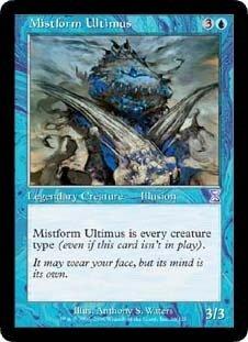 Mistform Ultimus (Magic the Gathering : Time Spiral Timeshifted #26 Rare) (Time Spiral Timeshifted Magic)