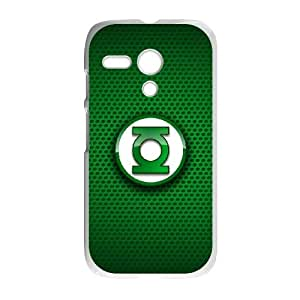 Motorola G Cell Phone Case White Green Lantern ntaw