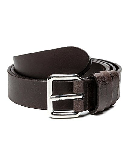 Wiberlux Prada Men's Calf Leather Belt 105 - Brown Prada Belt