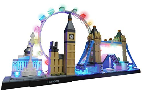 Brick Loot Lighting Kit for Your Lego London England Architecture Skyline Set 21034 Lego Set NOT Included