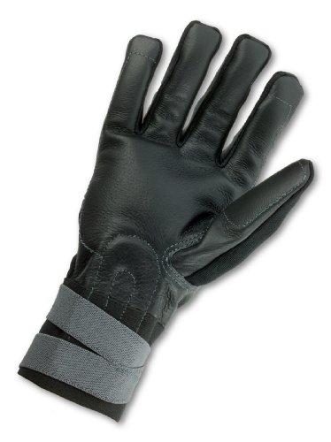 Ergodyne ProFlex 9012 Certified Anti-Vibration Work Glove with Wrist Support, Medium, Black by Ergodyne (Image #1)