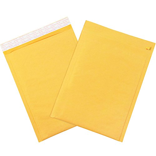 Ship Now Supply SNB856SSTT Self-Seal Bubble Mailers with Tear Strip, #3, 8.5
