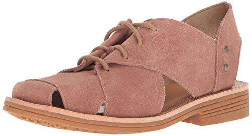 Caterpillar Women's Maren Unconstructed Leather lace up Shoe with Cutouts Oxford, Rose, 6 Medium US