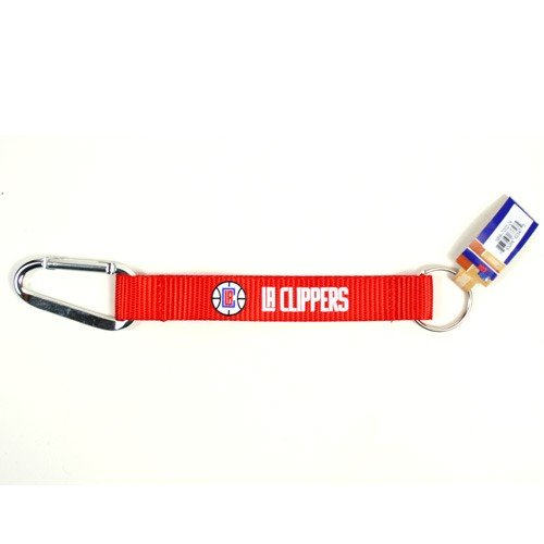 NBA Los Angeles Clippers Carabiner Lanyard Keyring (Lanyard Clippers)