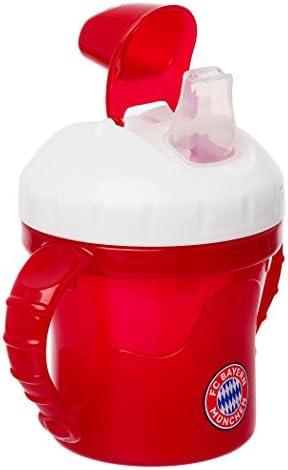 FC Bayern München Baby - Trinkbecher / Becher / Trinklernbecher - FCB plus gratis Aufkleber forever München