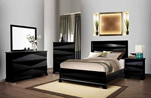 6-Drawer Dresser in Black