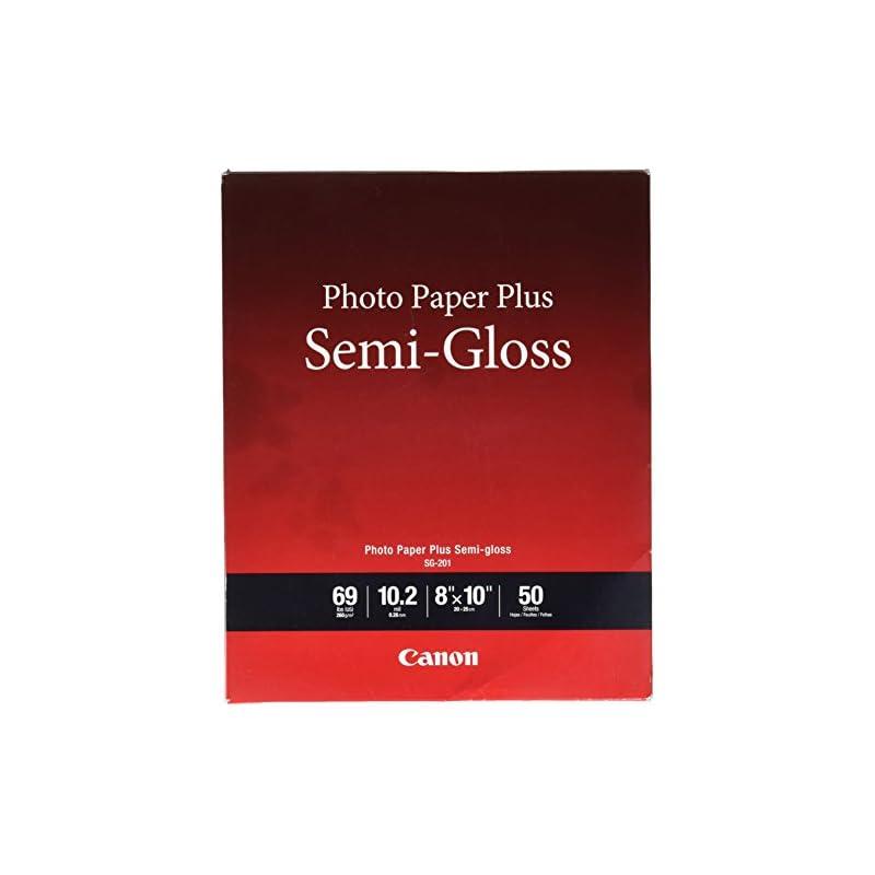 Canon Photo Paper Plus , 8 x 10 in, Semi