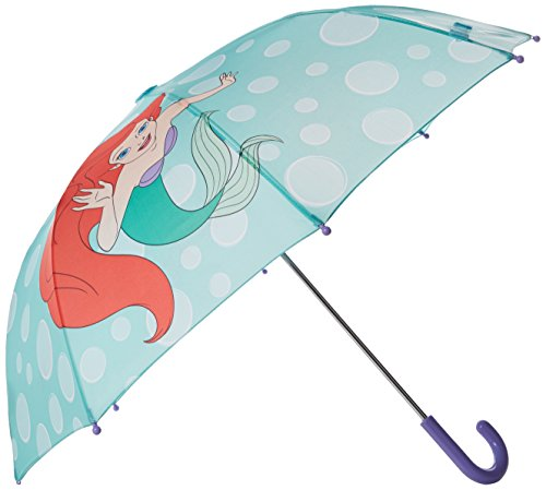 Western Chief Baby Little Girl Character Umbrella, Ariel Disney Princess, One Size (Princess Ariel Clothes)