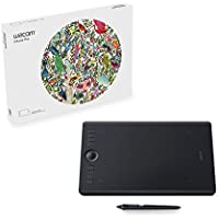 Wacom Intuos Pro Creative Pen Tablet (Medium) - Refurbished + PaintShop Pro X9