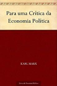 Para uma Crítica da Economia Política