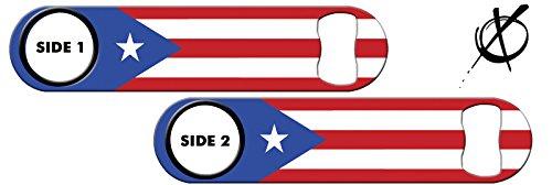 Killer Inked Bottle Opener: Puerto Rico Flag