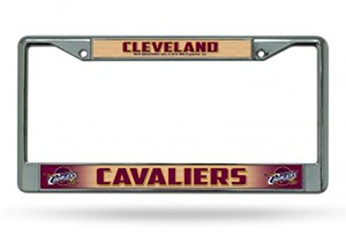 Cleveland Cavaliers Logos (Licensed NBA Cleveland Cavaliers Team Logo Chrome License Plate Auto/Truck Frame)