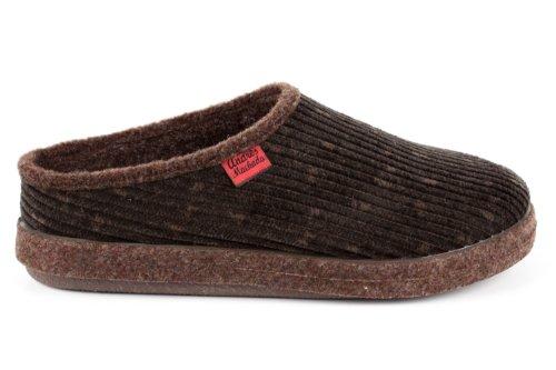 Andres Machado. ESAM001. Zapatillas Alpinas en diferentes colores. Unisex. Todas las tallas de la 26 a la 50. Pana Marron