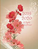 2019 2020 15 Months Floral Flowers Daily Planner: Academic Hourly Organizer In 15 Minute Interval; Appointment Calendar With Address Book, Password ... Diary With Quotes; From Jun 2019 To Aug 2020