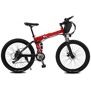 41Smpu2WCPL. SS300 JXH Mountain Bike Elettrico con Un Sacchetto, 250W 26 '' Bicicletta elettrica con Rimovibile 36V 12 AH agli ioni di…