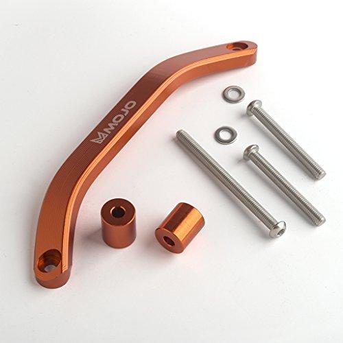 Mojo MOJO-KTM-GH Anodized Orange CNC Billet Grab ()