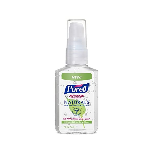 PURELL Advanced Hand Sanitizer   2oz Pump Bottle