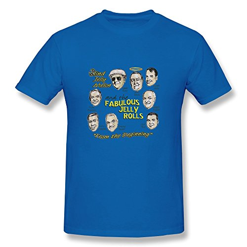 MINGRUI Men's Very Best Of Frankie Valli And The Four Seasons T-shirt L RoyalBlue