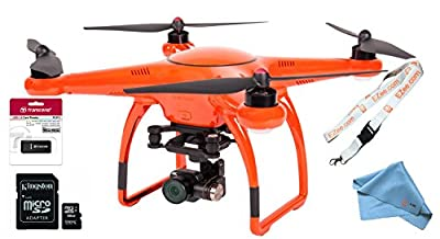 Autel Robotics X-Star Premium Drone with 4K Camera, 1.2-Mile HD Live View & Hard Case (Orange) EZEE Bundle from Autel Robotics