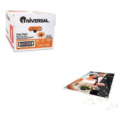KITSWI3747322UNV21200 - Value Kit - Swingline Fusion LongLife Premium Laminating Pouches (SWI3747322) and Universal Copy Paper (UNV21200)