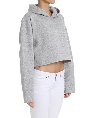 Golden Goose Femme G32WP031A1 Gris Coton Sweatshirt