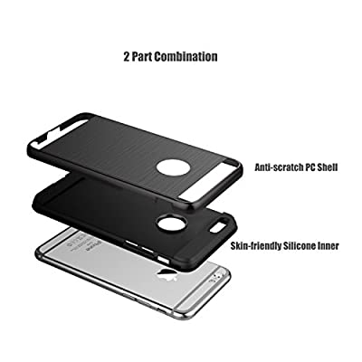 """Vomercy Case for iPhone 4.7"""" iPhone 6 iPhone 6s Armor Defender Dual Layers Shell Anti Scratch Cover Shockproof Case from Vomercy"""