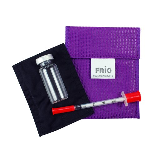 Frio Insulin Cooling Wallets - Water Activated (A-Mini, Purple)