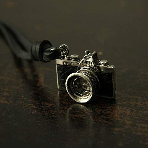 Men Necklace | New Jewelry Camera Pendant | Maximum Necklace Men Women Choker Genuine Leather Necklace