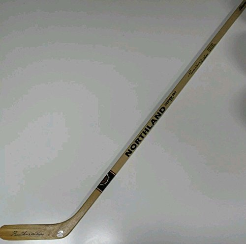 Gordie Howe Hof Autographed Signed Northland Pro Hockey Stick JSA Authentic Memorabilia Aeros Red Wings Whalers